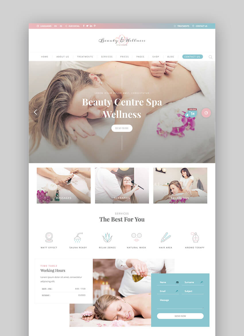 BeautyPack WordPress beauty theme