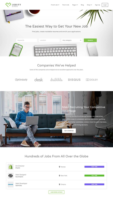 Jobify WordPress Job Board Directory Theme