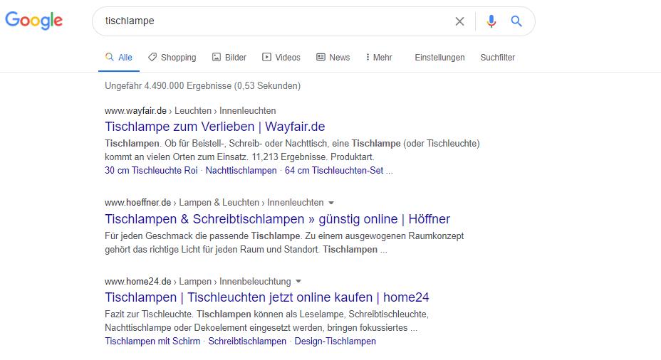 tischlampe google suche