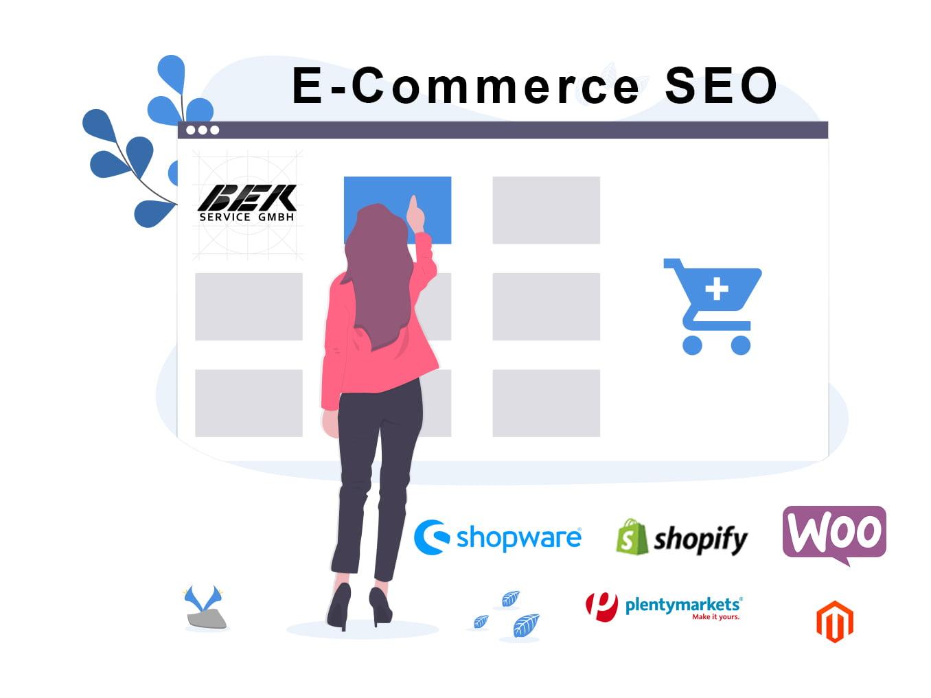 E Commerce Shop SEO All CMS  